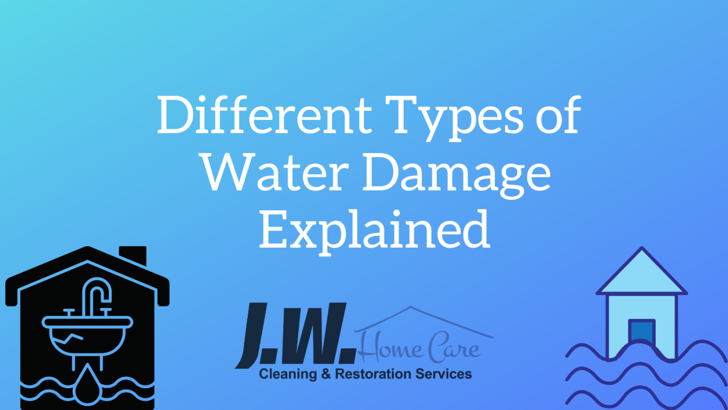 What Are the Different Types of Water Damage?