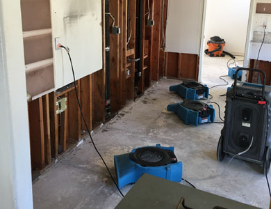 Water Damage Dry Out  Bakersfield, California